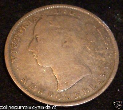 1899 20 cents Hook 99 Newfoundland.CANADA SILVER COIN