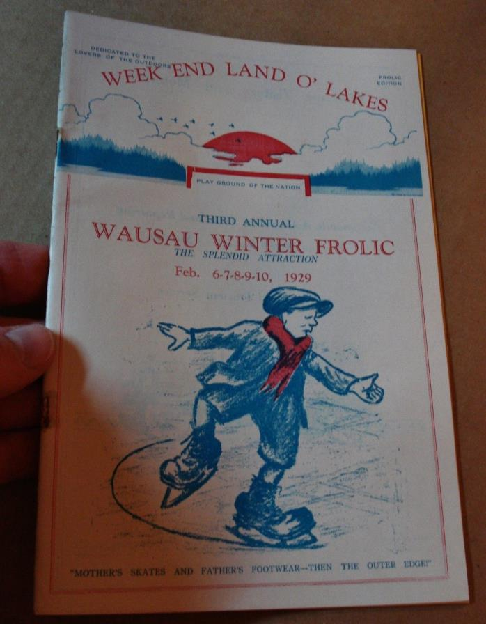 Antique Land O' Lakes Advertising BOOKLET 1929