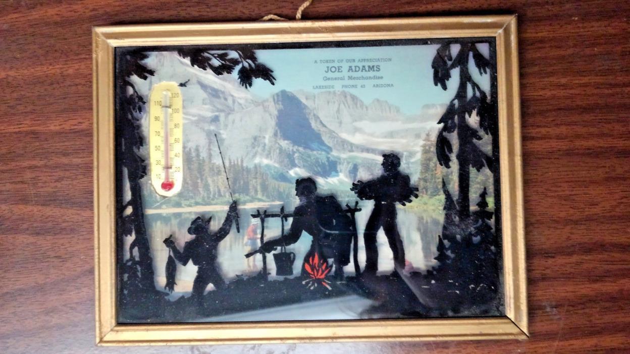 Antique Thermometer - Joe Adams General Merchandise, Lakeside Arizona Fish Camp