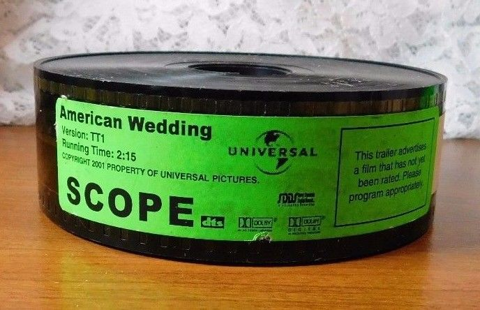 American Wedding 35mm Film Movie Trailer
