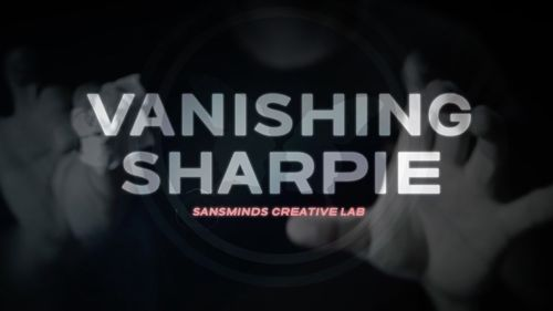 Vanishing Sharpie (DVD and Gimmicks) by SansMinds Creative Lab - Magic Tricks