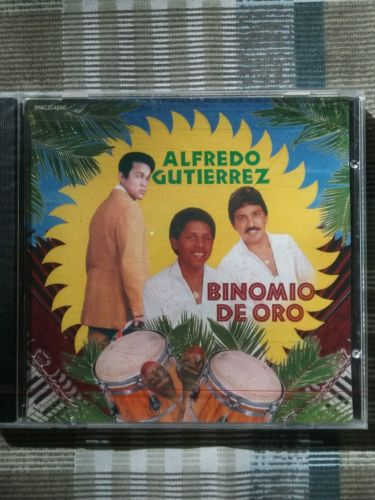 Alfredo Gutierrez y Binomio de Oro by Alfredo Gutierrez (CD, Jun-2002, Fonovisa)