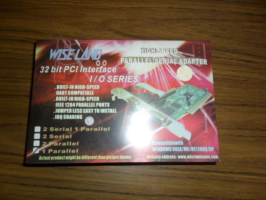 Wiseland 32bit PCI HighSpeed Parallel/Serial Adaptor
