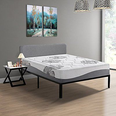 Olee Sleep 12 Inch Gel Top Tencel Memory Foam Mattress 12FM01Q