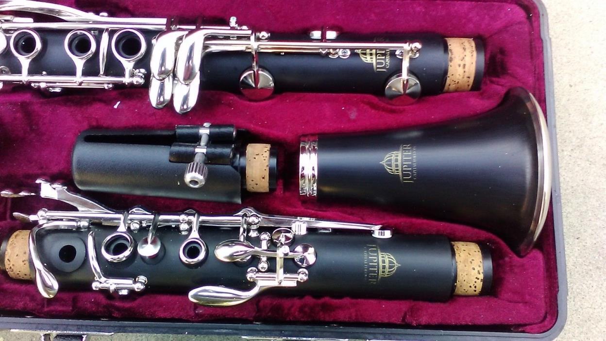 Jupiter Clarinet CEC-635 + Excellent Cond + 14day Return + Fast Ship + Yamaha So