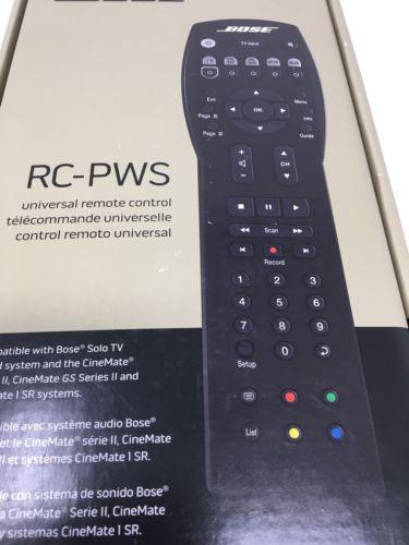 Bose RC-PWS Universal Remote Cinemate Solo