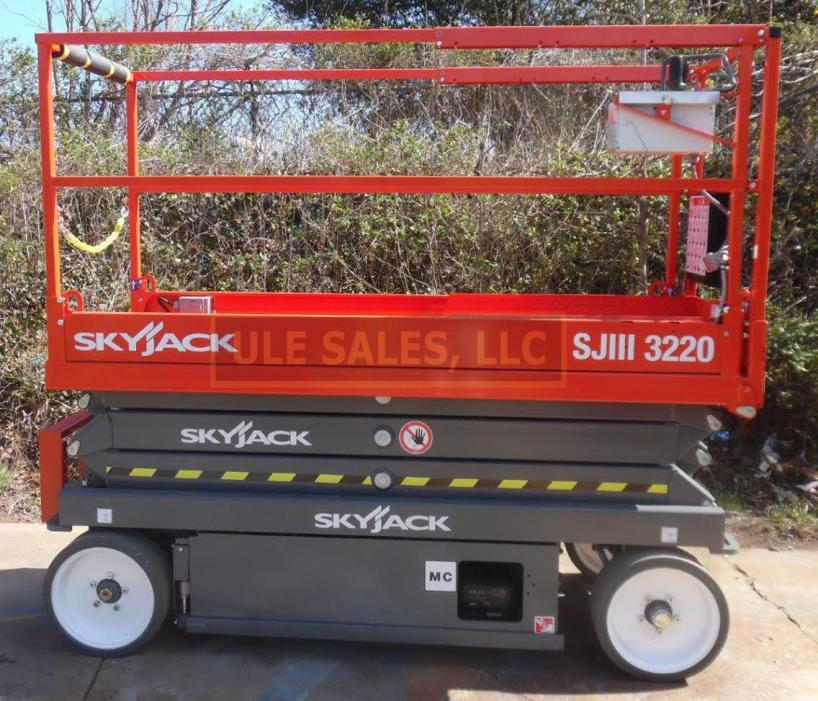 2018 Skyjack SJ3220 electric scissor lift - NEW - In-Stock, Door 2 Door Delivery