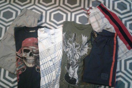 Lot of Boy's Clothing Sizes 6-10 Old Navy, Tony Hawk, Cherokee, Atonement
