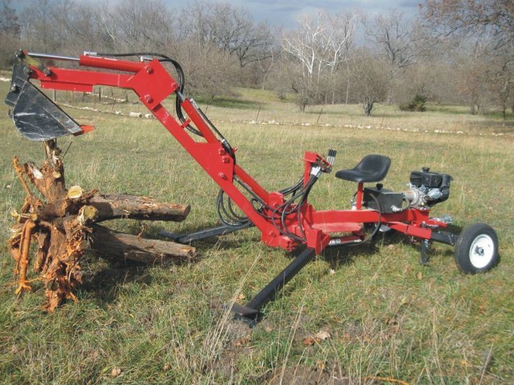 Build your own Portable Backhoe (DIY Plans) Fun to build!!
