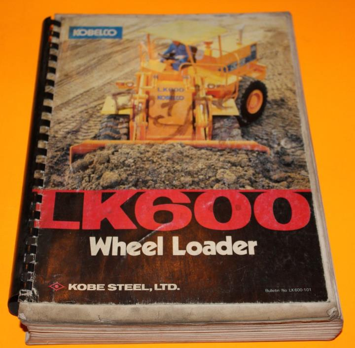 Kobelco Wheel Loader Shop Manual LK600