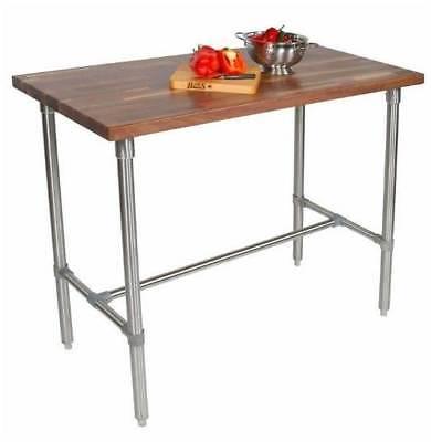 Rectangular Table w Walnut Top Finish [ID 701178]
