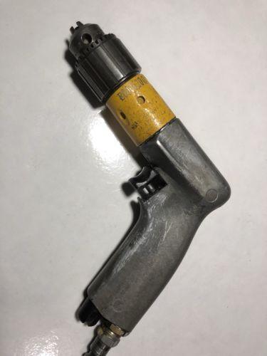 ATLAS COPCO  Mini Pneumatic Palm Drill with Unused  1/4