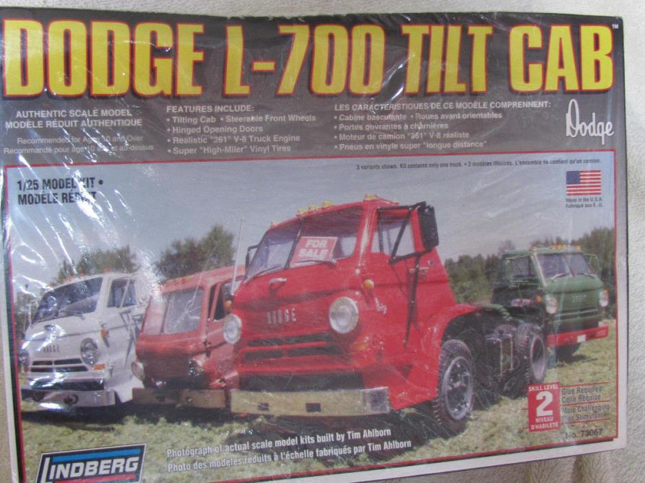 DODGE 9-700 TILT CAB MODEL BY LINDBERG
