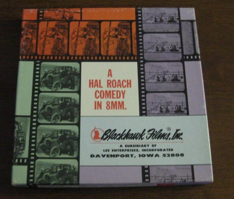 ~UNCENSORED MOVIES ~8MM FILM ON 400' REEL -HAL ROACH COMEDY- BY BLACKHAWK FILMS