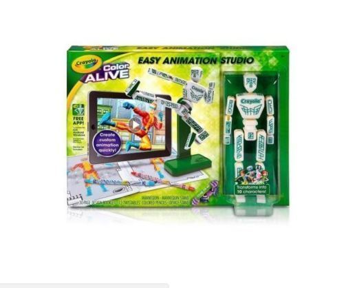 New Crayola Color Alive Easy Animation Studio Age 6+