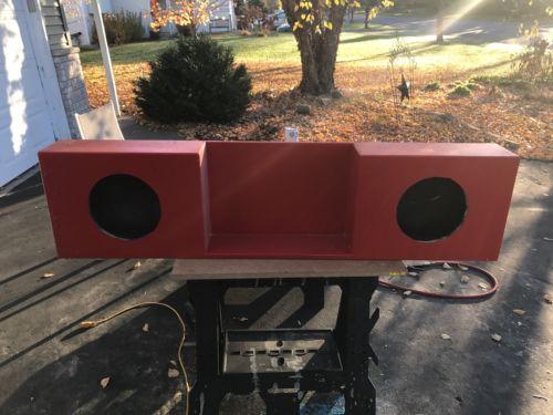 Custom Truck Sub Box For 2 - 10