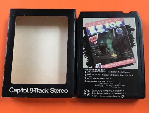 The Best Of ZZ Top 8 track tape tested