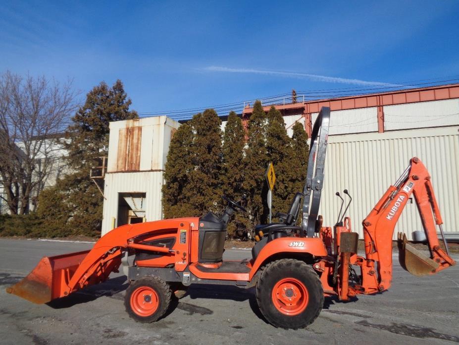 2012 Kubota BX25 Tractor Loader Tractor Backhoe  - Diesel  - 4x4 - Low Hours