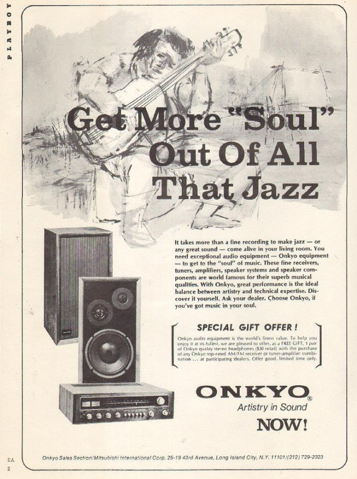 1971 vintage AD ONKYO Audio Equipment Receivers, Speakers Stereo  091116