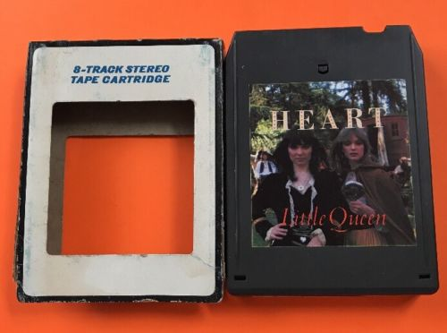 Little Queen By Heart 8 track tape tested