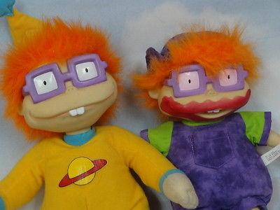 RARE 1997 Viacom Mattel Rugrats Chucky Finster Dolls* Cuddly & Cute 11-13