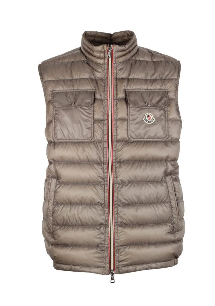 Moncler ACHILLE GILE VEST Quilted Size 5 / XL / 54 / 44 U.S -NEW