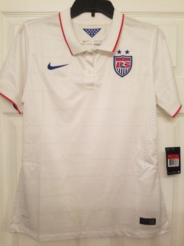 Nike Dri Fit Womens Soccer Polo Shirt (Size Large)