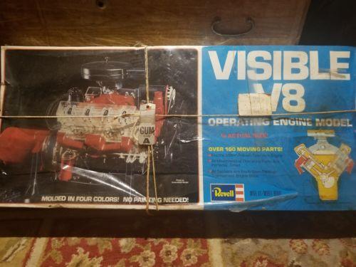 Revell Visible v8 Engine Model 1977