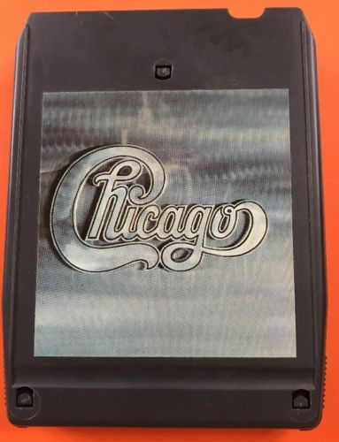 Chicago II  8 track tape tested