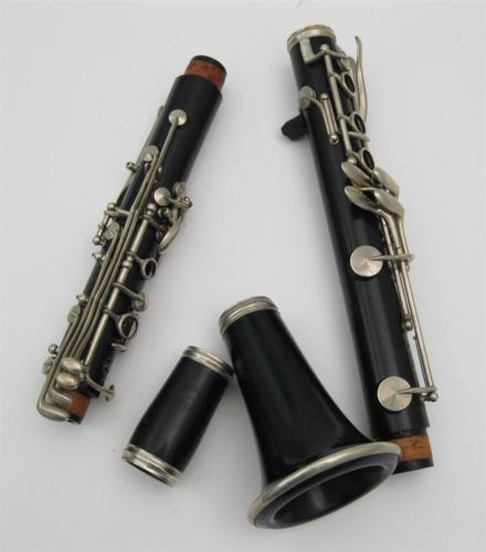 Vintage Buffet Crampon Evette Schaeffer Paris Bb Clarinet Nice Condition