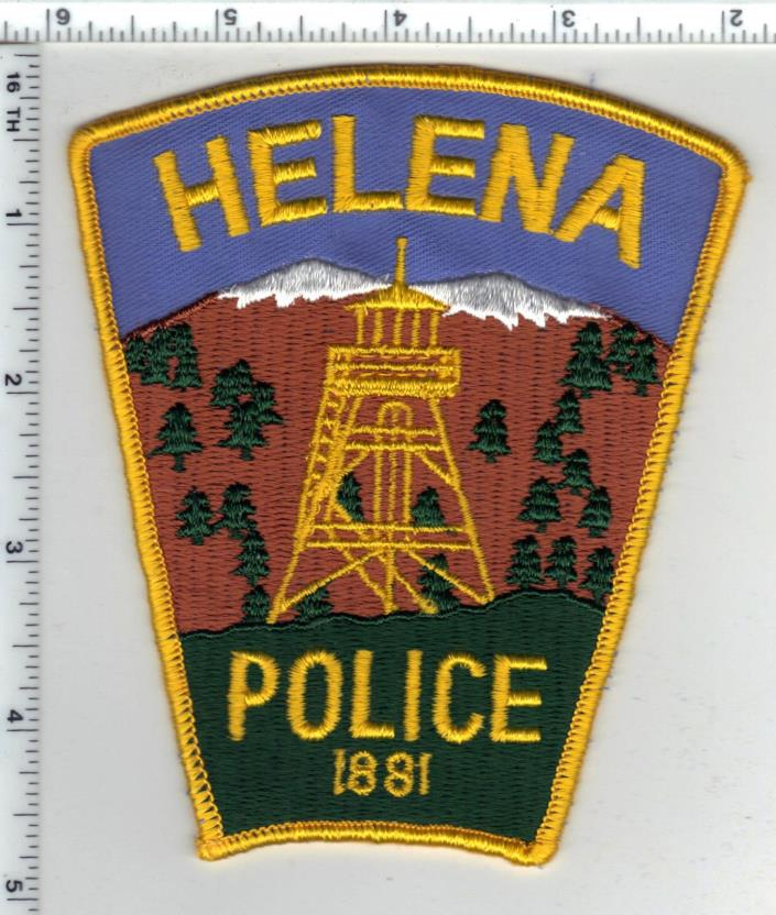 Helena Police (Montana) 2nd Issue Shoulder Patch - new from the 1980's
