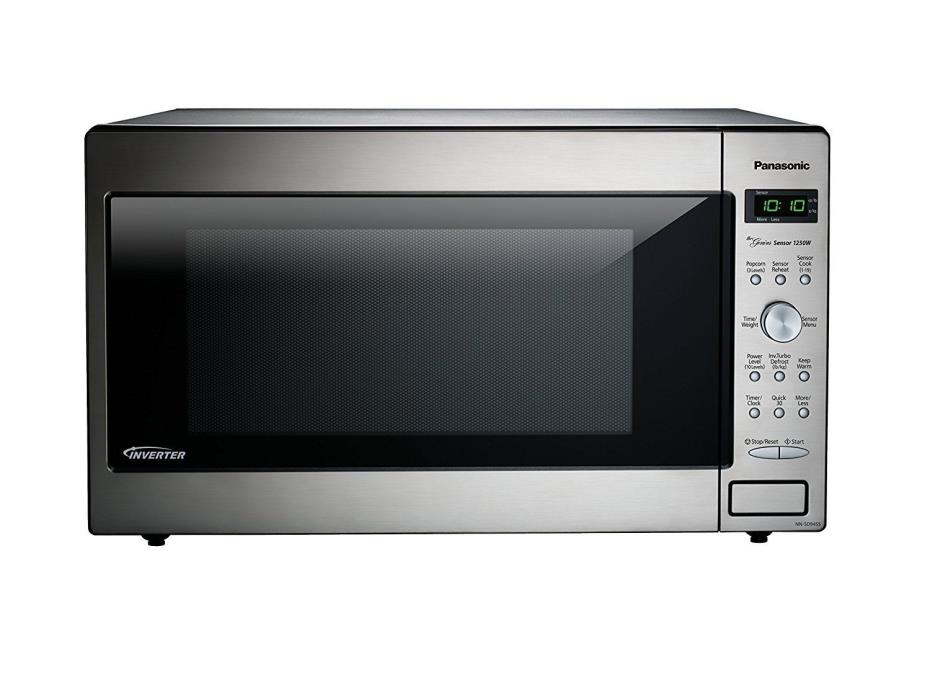 Panasonic NN-SD945S Countertop/Built-In Microwave with Inverter Technology, 2.2