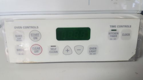 Genuine GE Range Oven,Control Board # WB27T10468 -  NOTE DAMAGE - Check Pictures