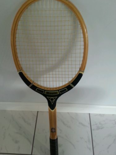 Vintage TAD Davis PROFESSIONAL Wood Racquet Made in USA 4 M