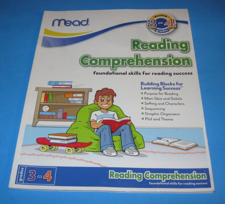 Mead ~ READING COMPREHENSION ~ Grades 3-4 ~ Unused 2011 Book