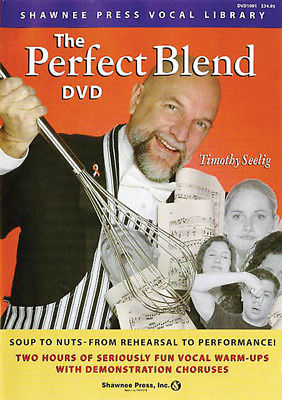 The Perfect Blend Vocal Lessons Choral Singing Warm Ups Tim Seelig Video DVD NEW