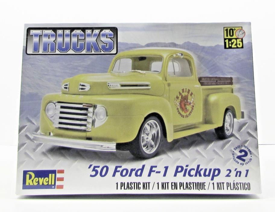 1950 Ford F-1 Pickup Revell 85-7203 1/25 New Truck Model Kit