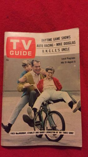 TV Guide Schwinn Stingray My Three Sons