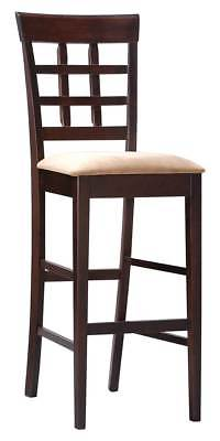 Casual Wooden Barstool - Set of 2 [ID 3188456]