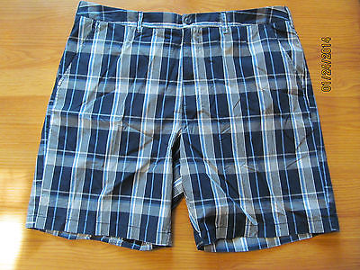 Men's Croft & Barrow Classic Plaid Shorts Relaxed Fit Size 38 New with Tags