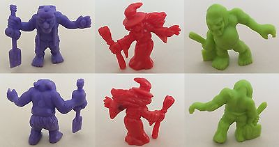 Vintage Shreddies Monsters In My Pocket MIMP Lot of 3