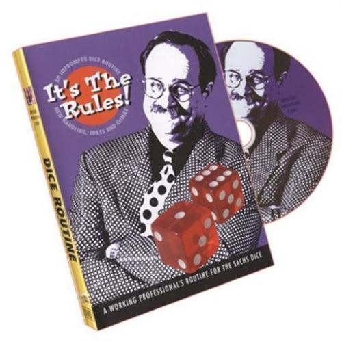 It's The Rules ( DICE ROUTINE ) by Bob Sheets - DVD - Magic Tricks