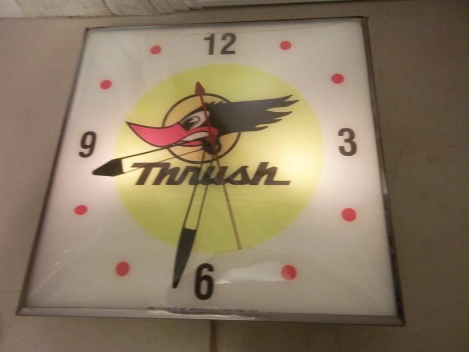 Vintage Pam Clock THRUSH