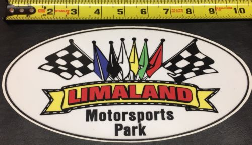 Limaland Motorsports Park UNOH Racing Decal Sticker Race Car Lima, OH Dirt Track