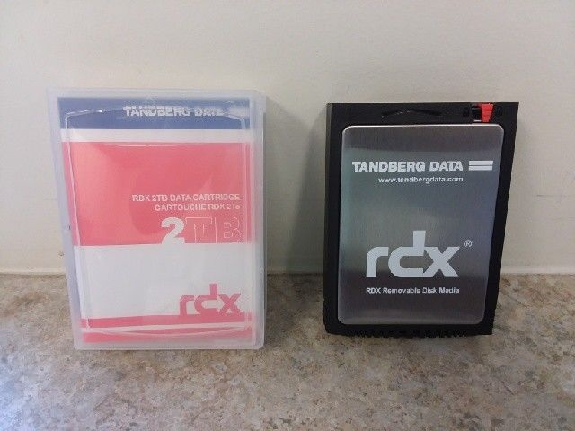 Tandberg 8731-RDX QuikStor 2TB Removable Disk Data Cartridge