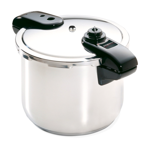 Presto 01370 8-Quart Stainless Steel Pressure Cooker NEW