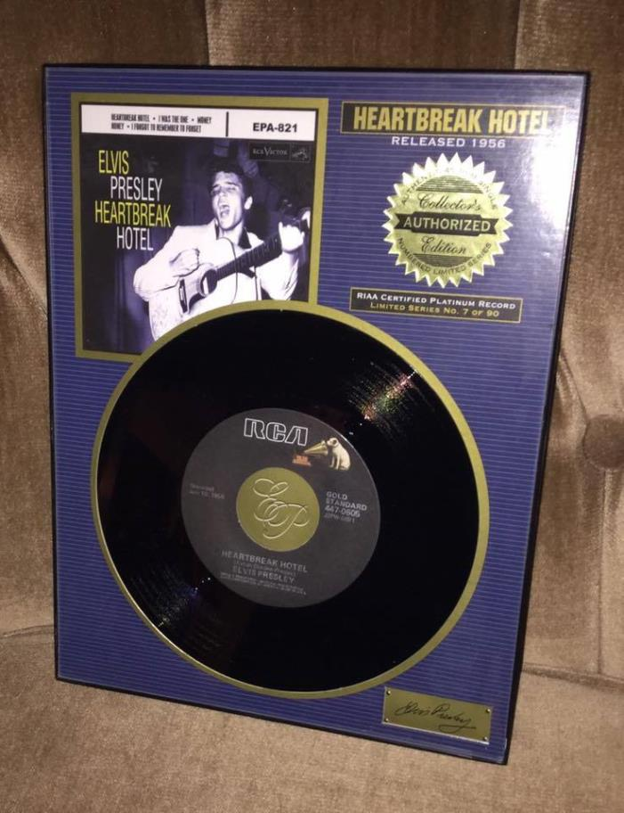 Elvis Framed Records - For Sale Classifieds