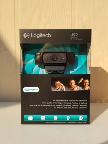 Logitech C920 Pro Webcam 1080p 15 MP - Black