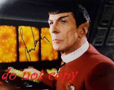 LEONARD NIMOY #2 AUTOGRAPHED PICTURE SIGNED 8X10 PHOTO CHRISTMAS  RP