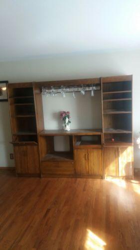storage cabinet wood